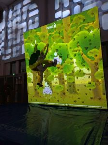 Augmented Climbing Wall – Whack a Bat