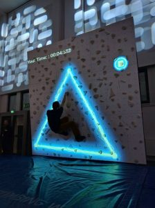 Augmented Climbing Wall - Sparks