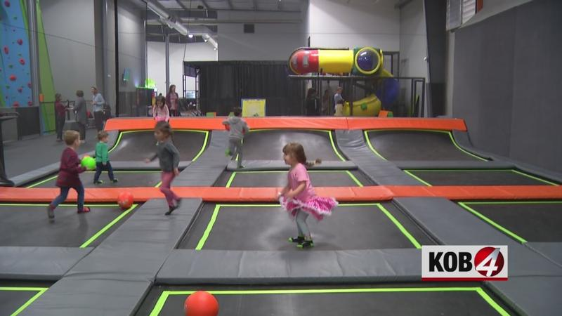 Children with autism find fun, motor skill improvement at local trampoline park