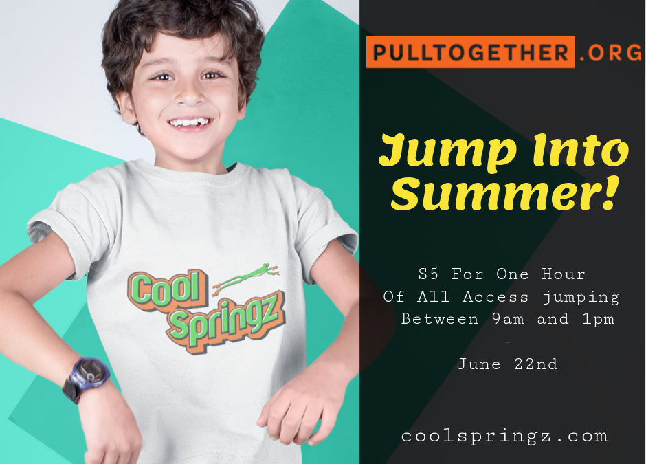 Pull Together.org event at Cool Springz-June 22