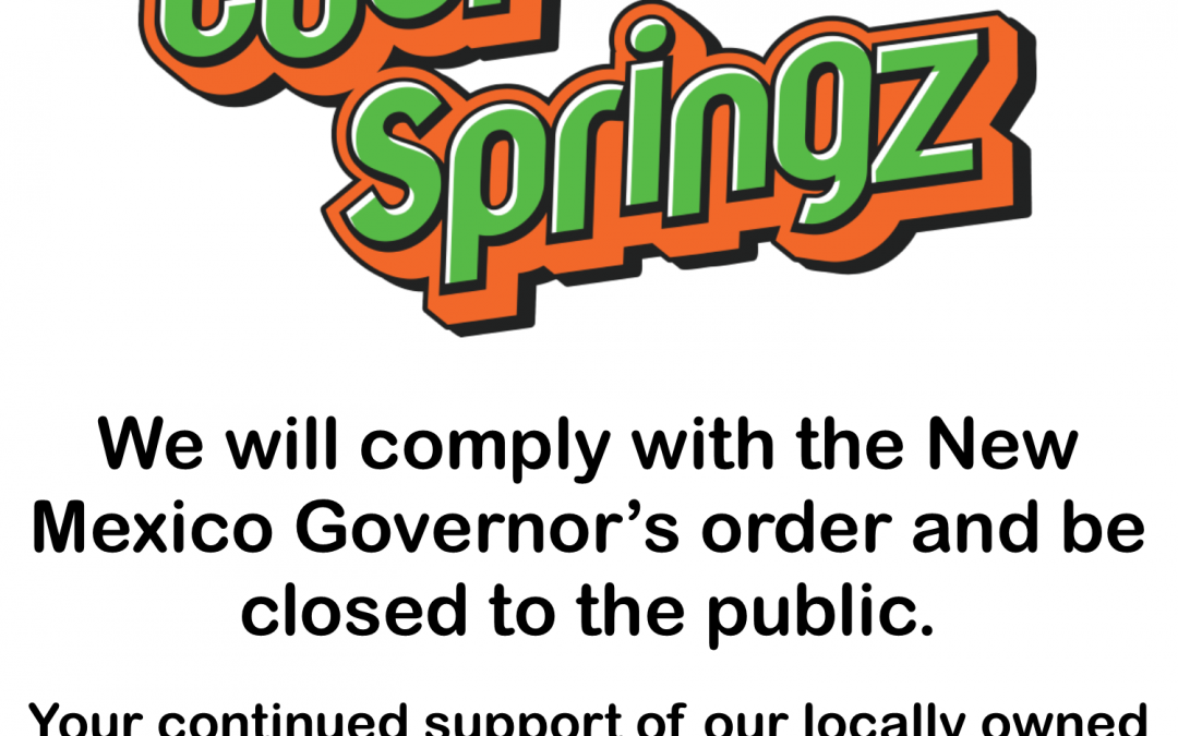 We are closed to the public