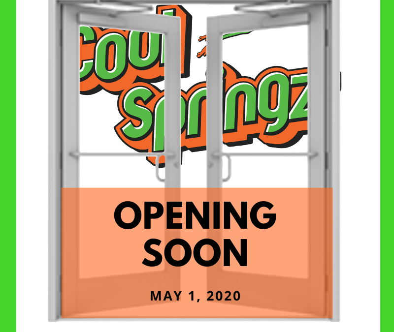 Hoping to open May 1